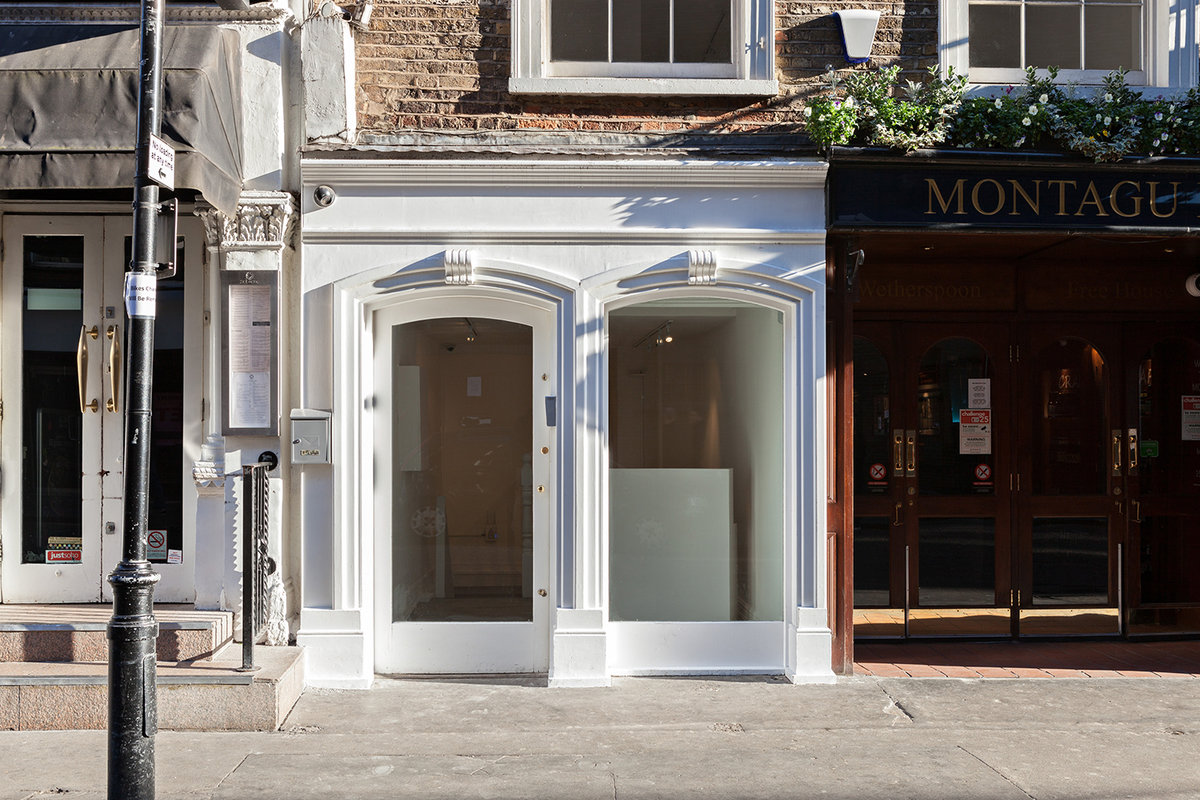 Storefront listing Stunning Gallery space in Soho in Soho, London, United Kingdom.