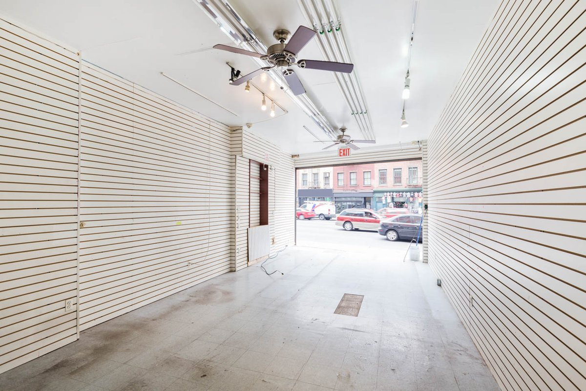 Storefront listing Minimal SoHo Retail Space in SoHo, New York, United States.