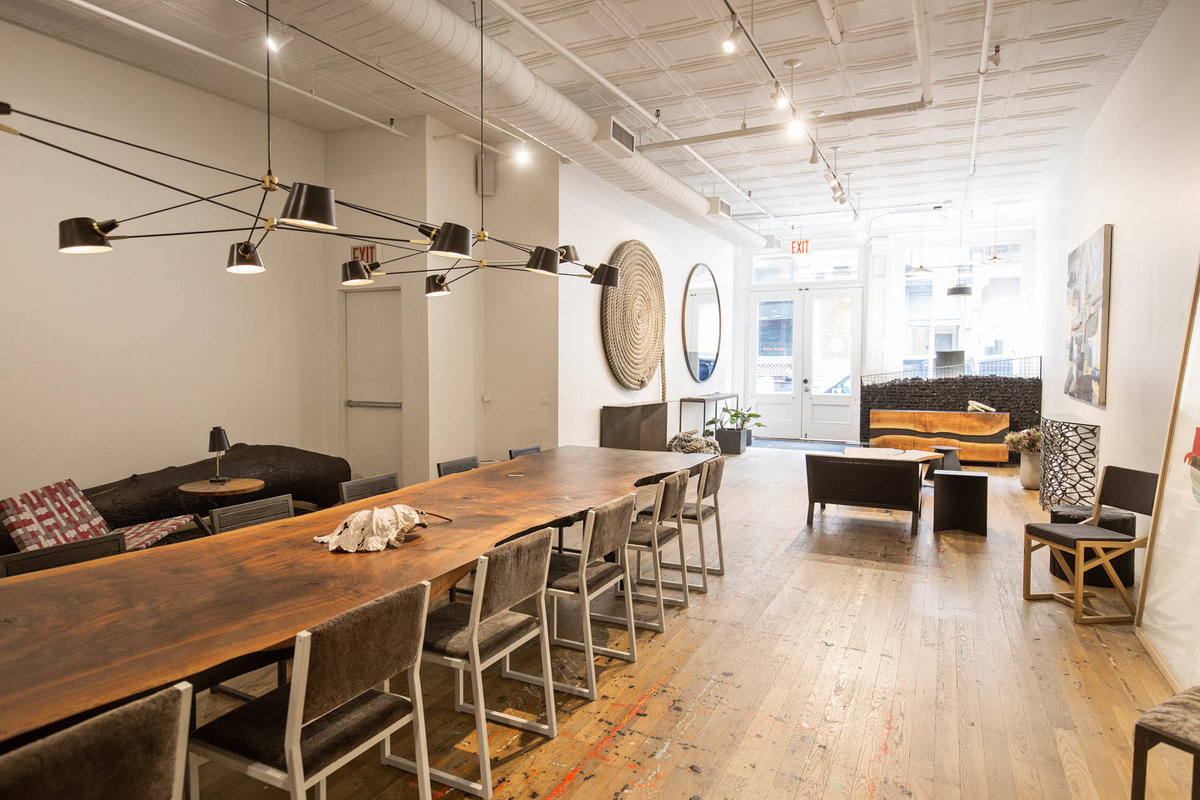Storefront listing Stunning Showroom in Tribeca in Tribeca, New York, United States.