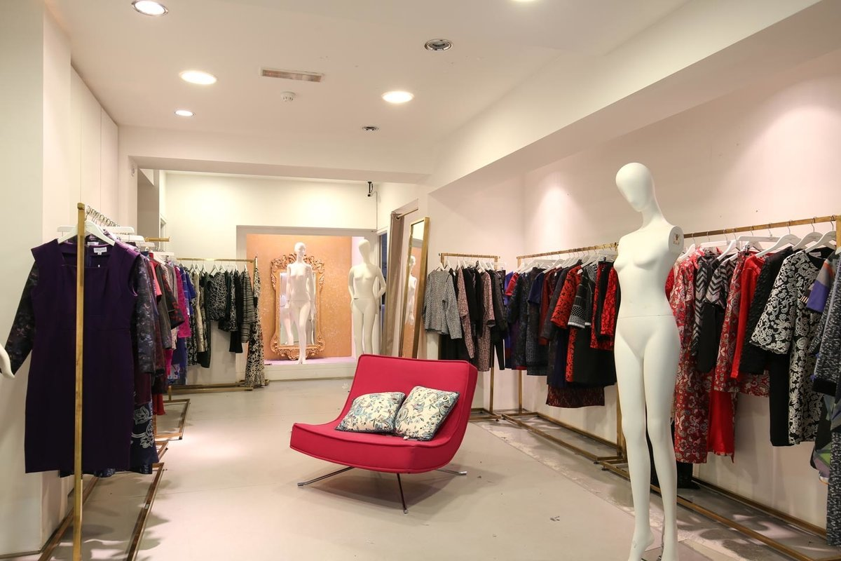 Storefront listing Pop-Up Boutique in Fitzrovia in Fitzrovia, London, United Kingdom.