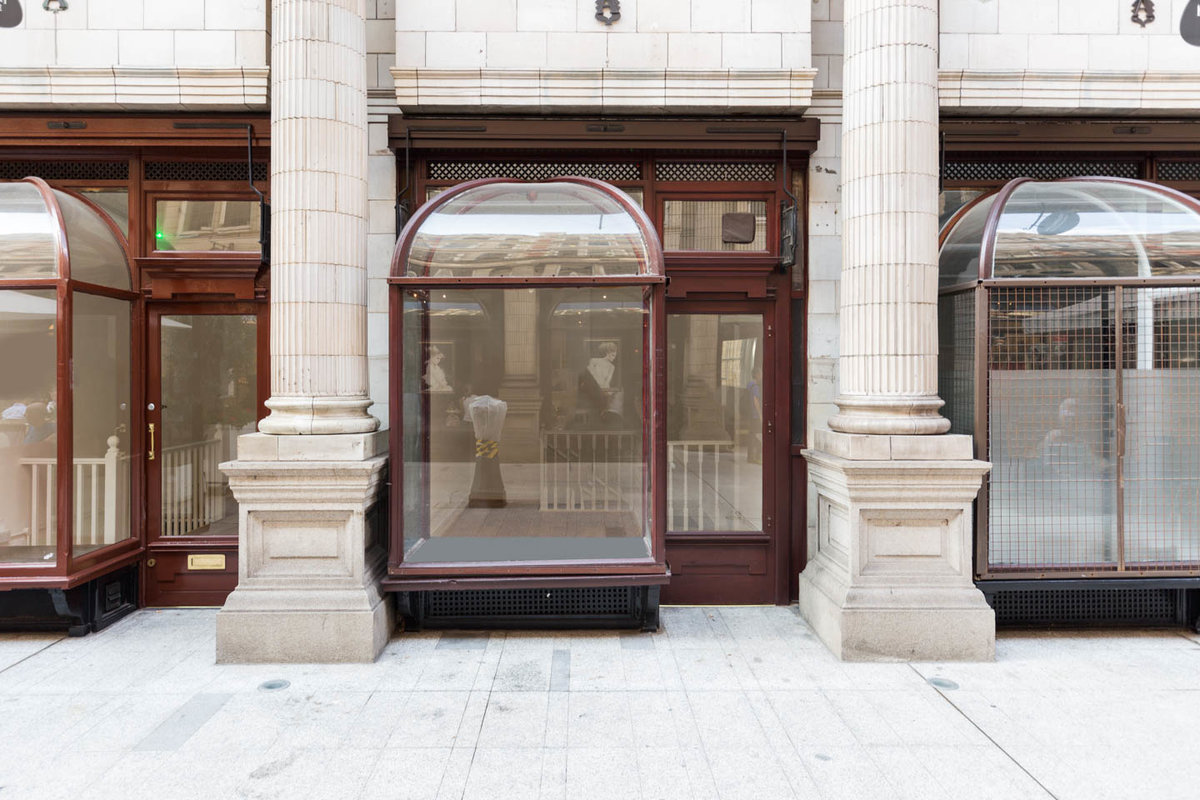 Storefront listing Classic Holborn Pop-Up Space in Bloomsbury, London, United Kingdom.