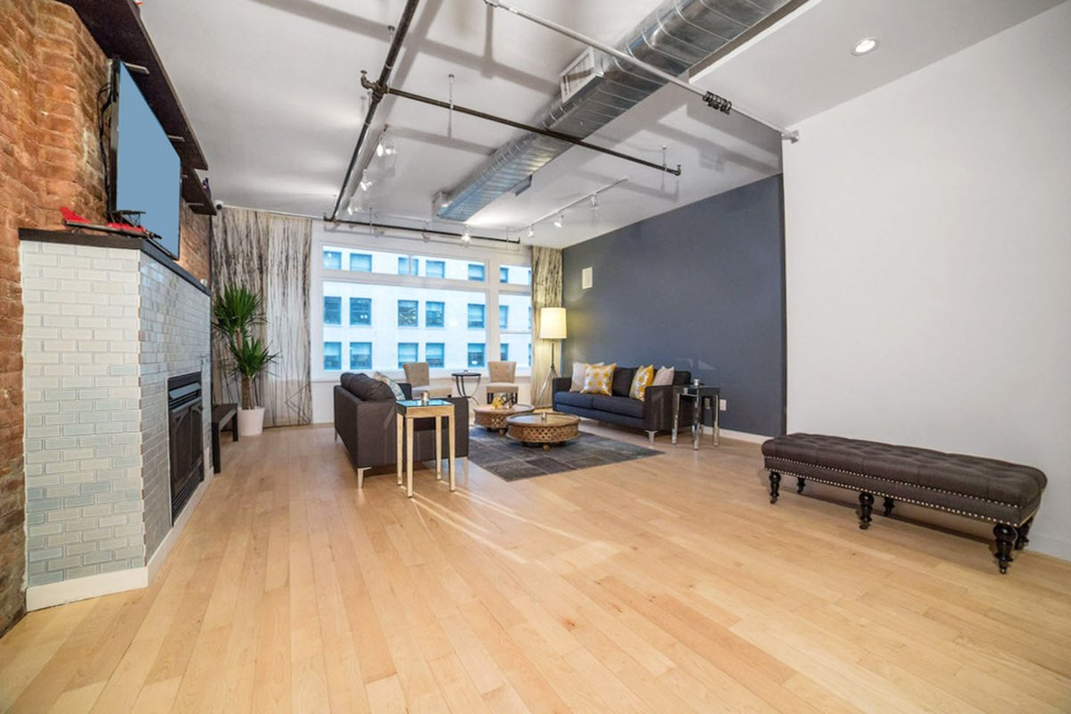 Storefront listing Fully Furnished Penthouse & Terrace in Midtown, New York, United States.