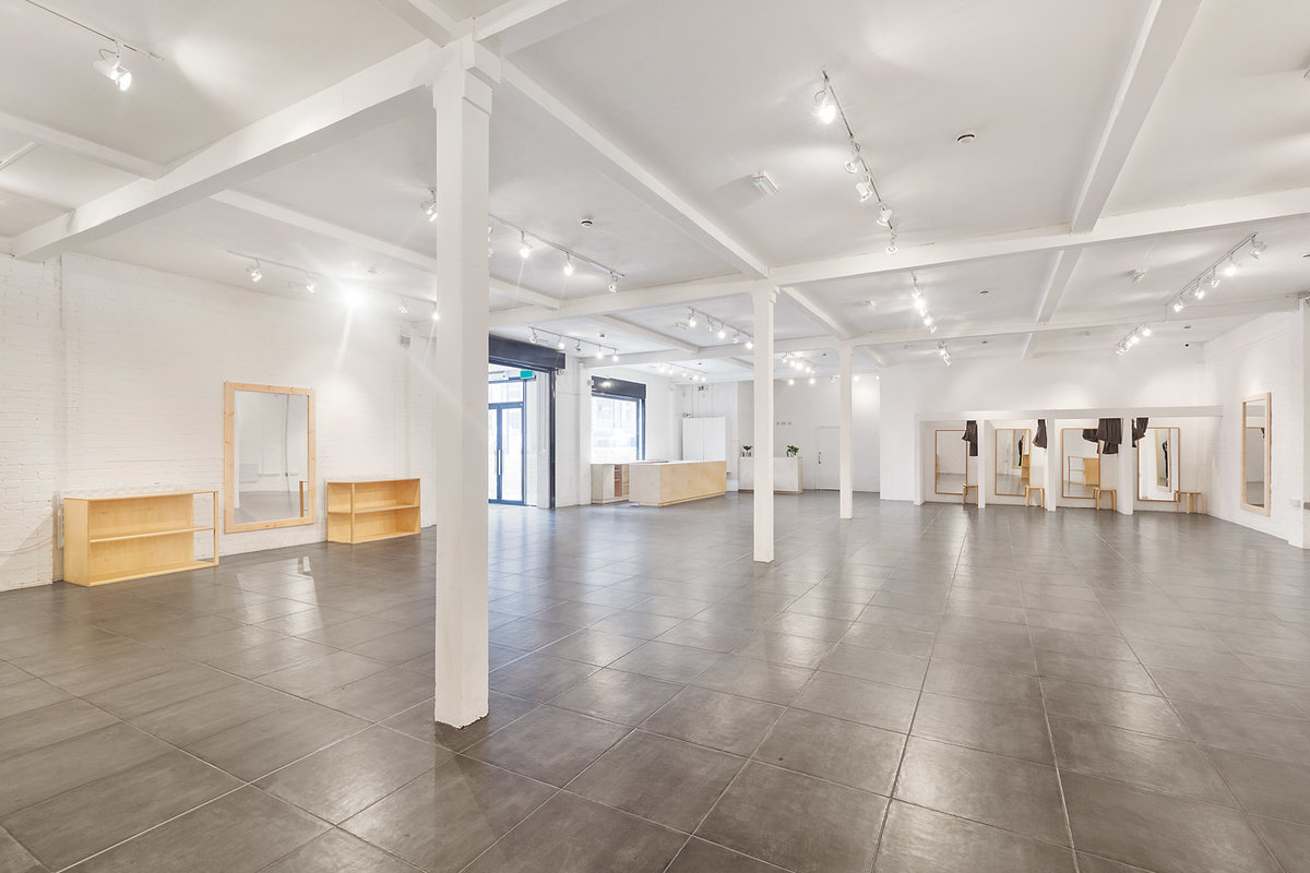 Storefront listing Premium Show Space in Hackney in Hackney, London, United Kingdom.