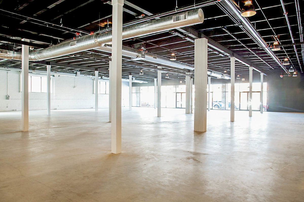 Storefront listing Retail Space in Fulton Market in Fulton Market, Chicago, United States.