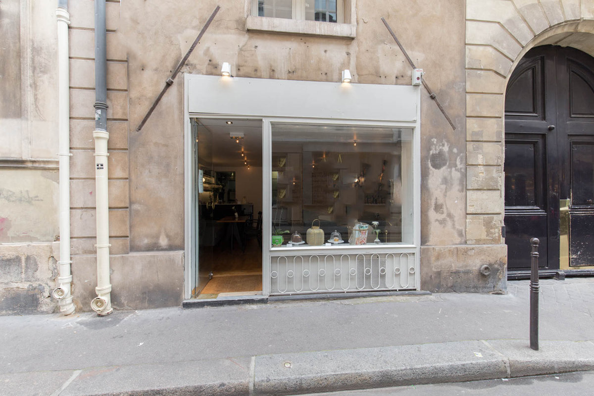 Storefront listing Pop-Up Space in Haut Marais in Le Marais, Paris, France.