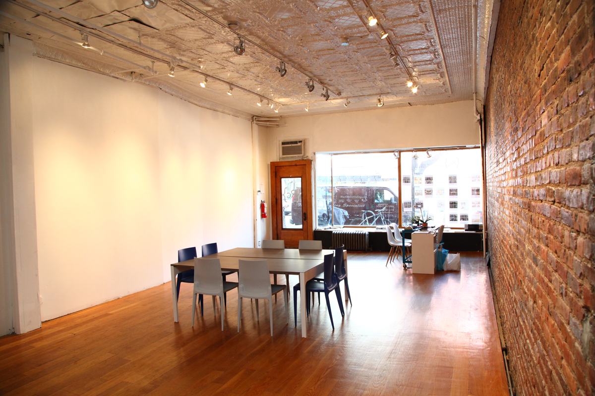 Storefront listing Rustic Gallery in Vibrant Redhook in Red Hook, New York, United States.