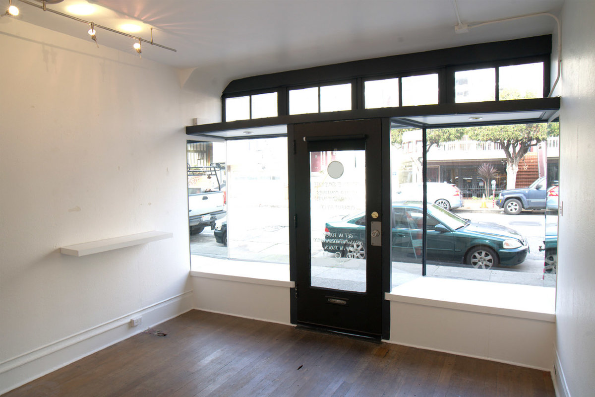 Storefront listing Trendy Pop-up in Marina District in Cow Hollow, San Francisco, United States.