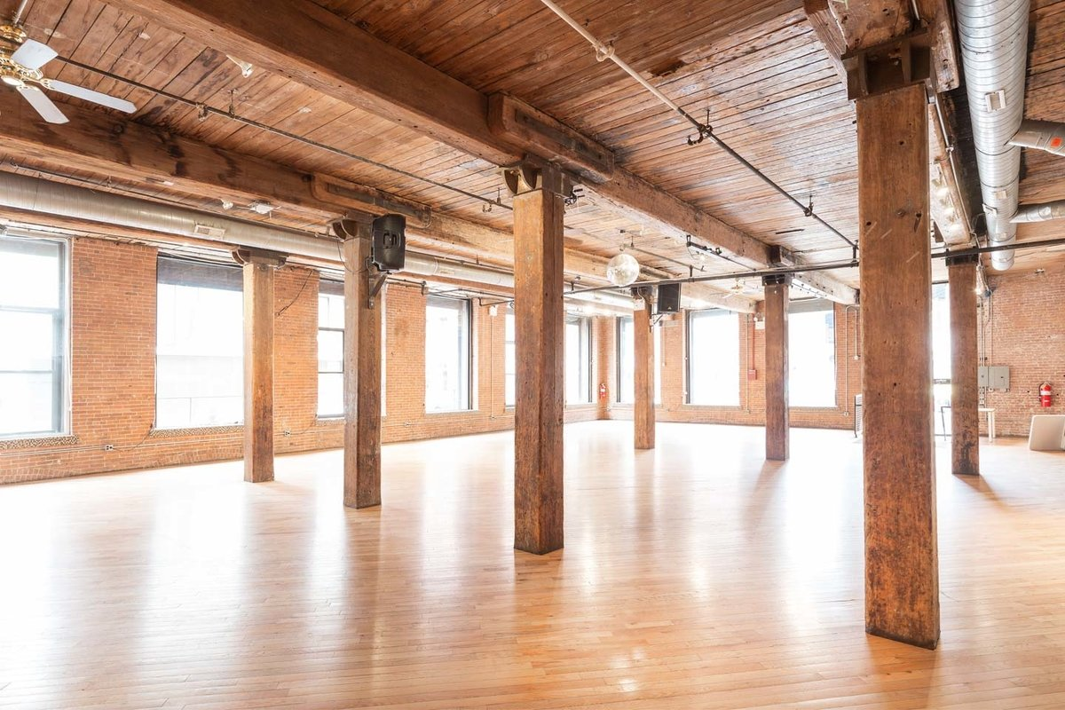 Storefront listing Retail and Studio Space in DUMBO in Dumbo, New York, United States.
