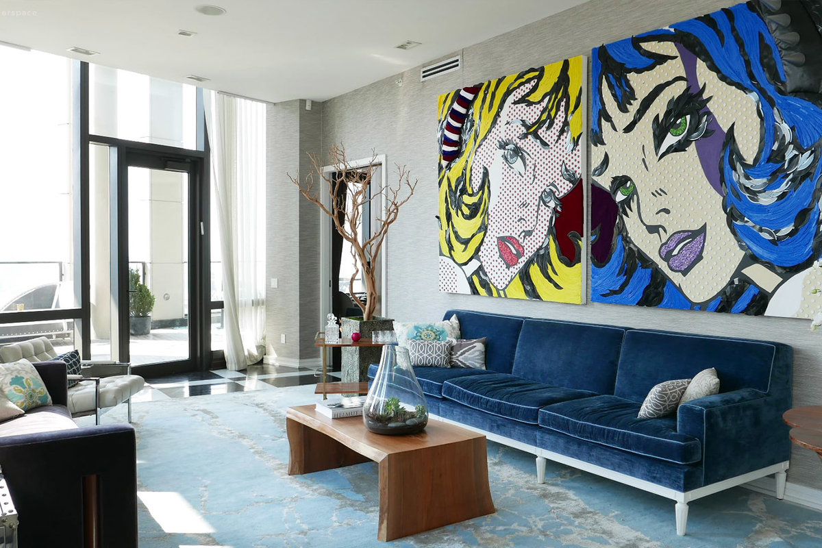 Storefront listing Luxury Urban Tribeca Penthouse in Lower Manhattan, New York, United States.