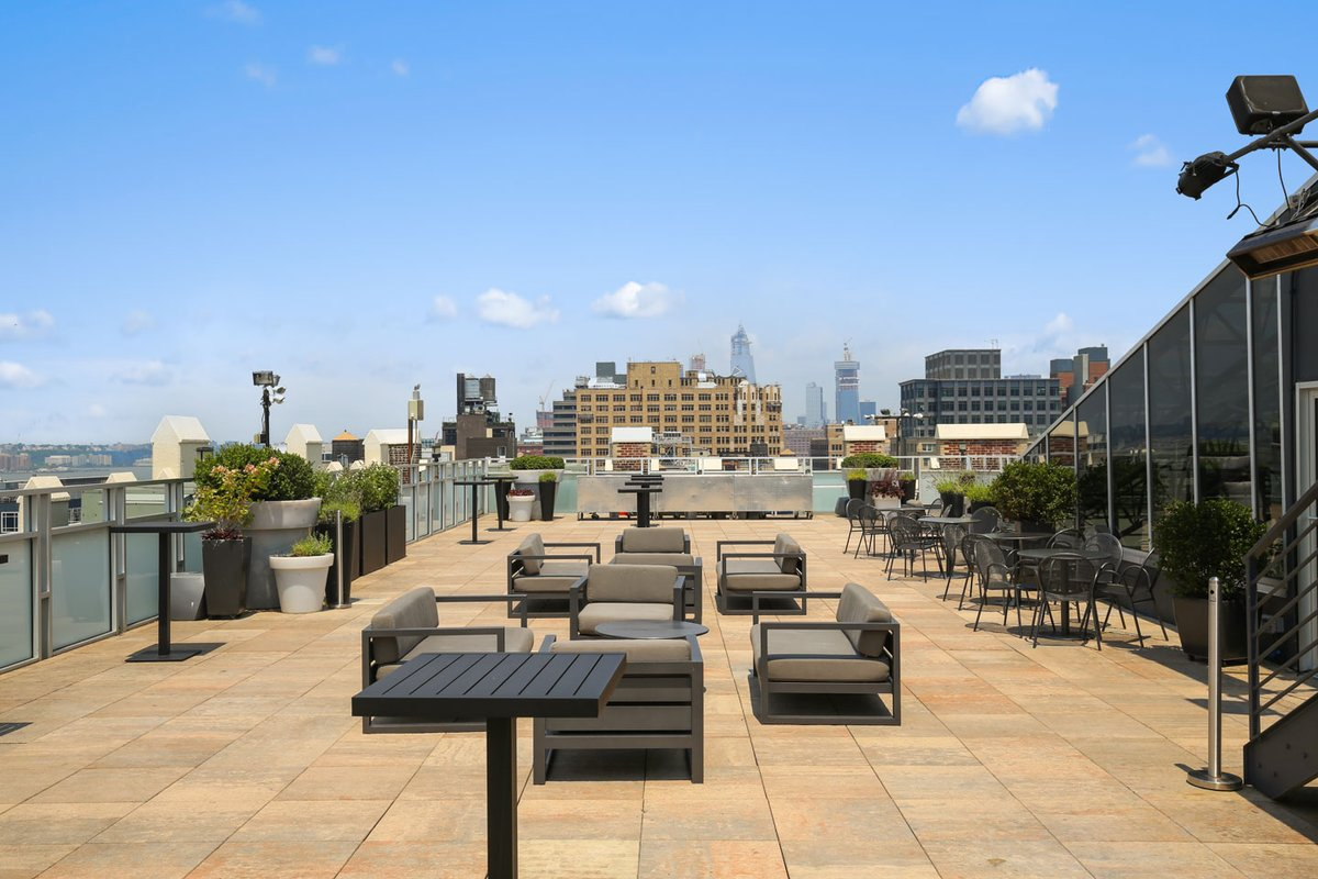 Storefront listing Spacious, Picturesque Rooftop in Tribeca in Tribeca, New York, United States.