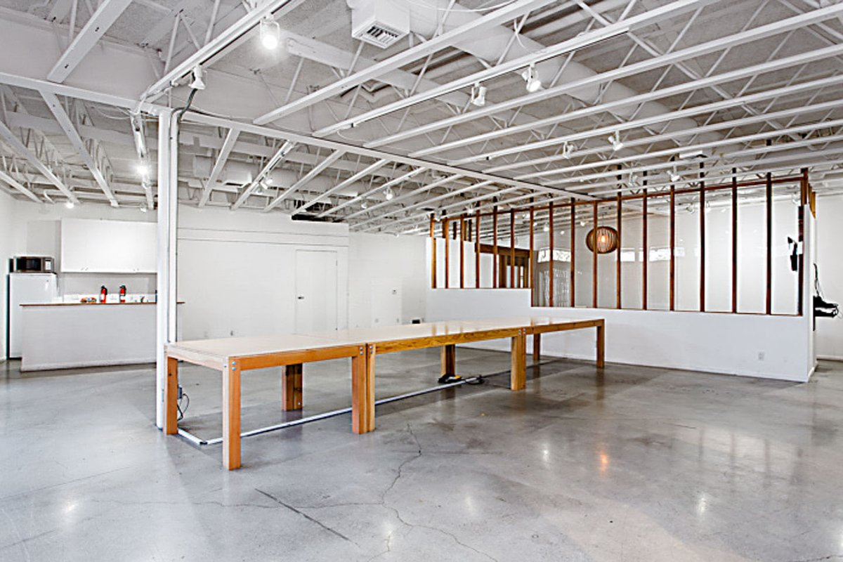 Storefront listing Prime Event Space in Venice, Los Angeles, United States.