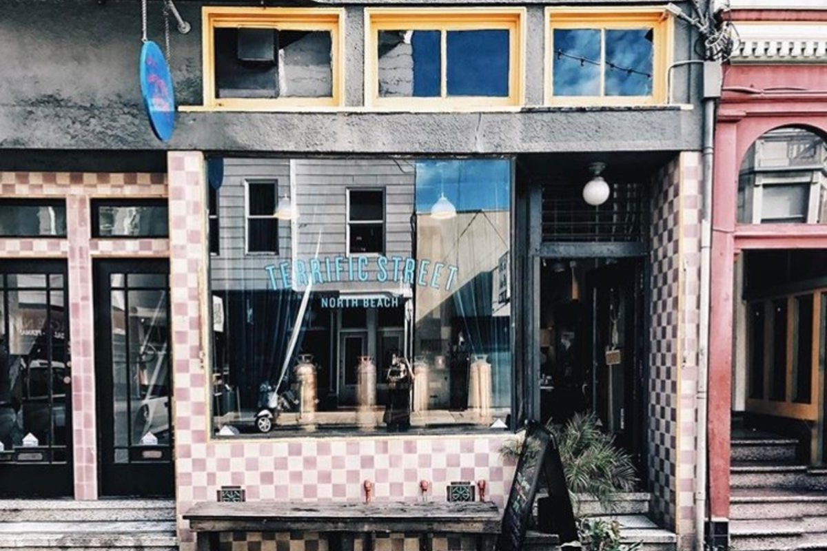 Storefront listing North Beach Pop-Up Art Space in North Beach, San Francisco, United States.