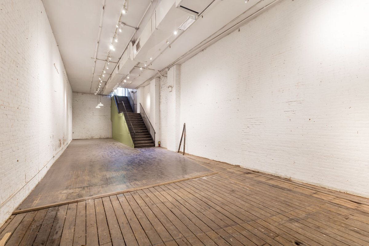 Storefront listing Retail & Event Space in Nolita in Nolita, New York, United States.