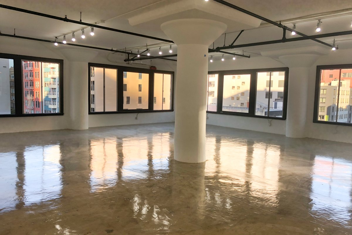 Storefront listing Bright Studio in DTLA in Central LA, Los Angeles, United States.