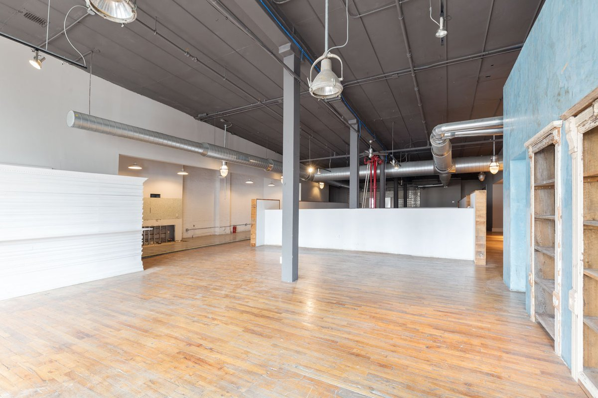 Storefront listing Beautiful Broadway Loft Space in Soho, New York, United States.