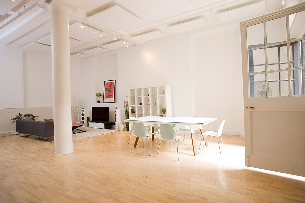 Storefront listing Stylish lifestyle studio space in Shoreditch in Islington, Greater London, United Kingdom.