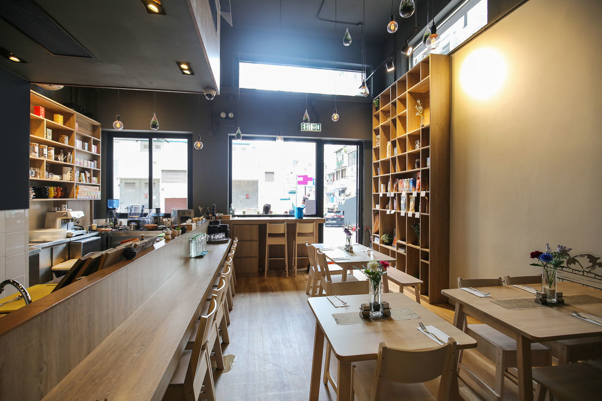 位於Hong KongHong KongSheung Wan的Curated Cafe in Sheung Wan