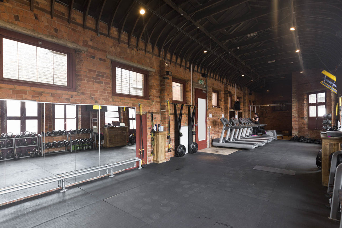 Storefront listing Urban Gym Space Near Finchley in Camden, London, United Kingdom.