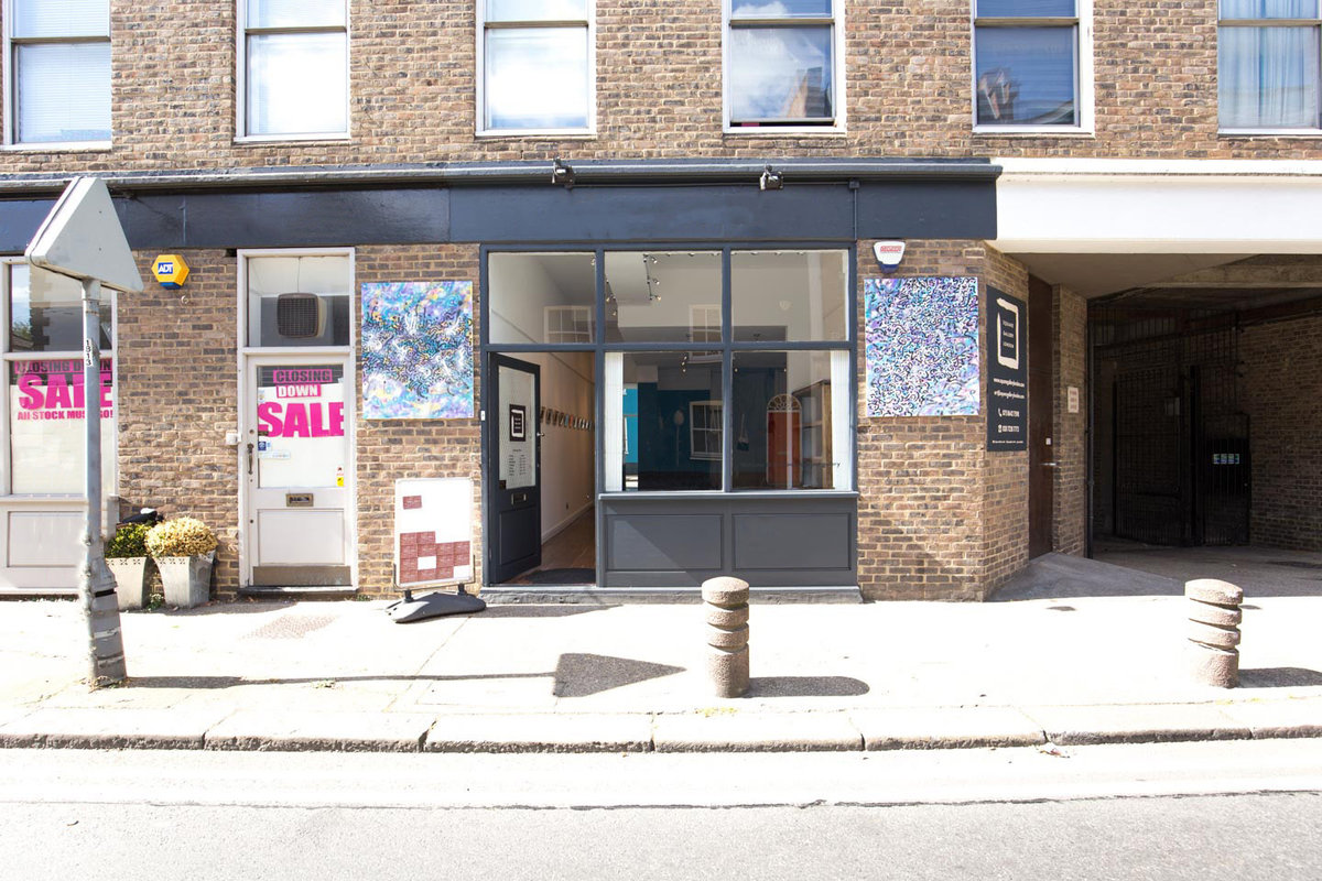 Storefront listing Smart Gallery Space in Battersea in Battersea, London, United Kingdom.