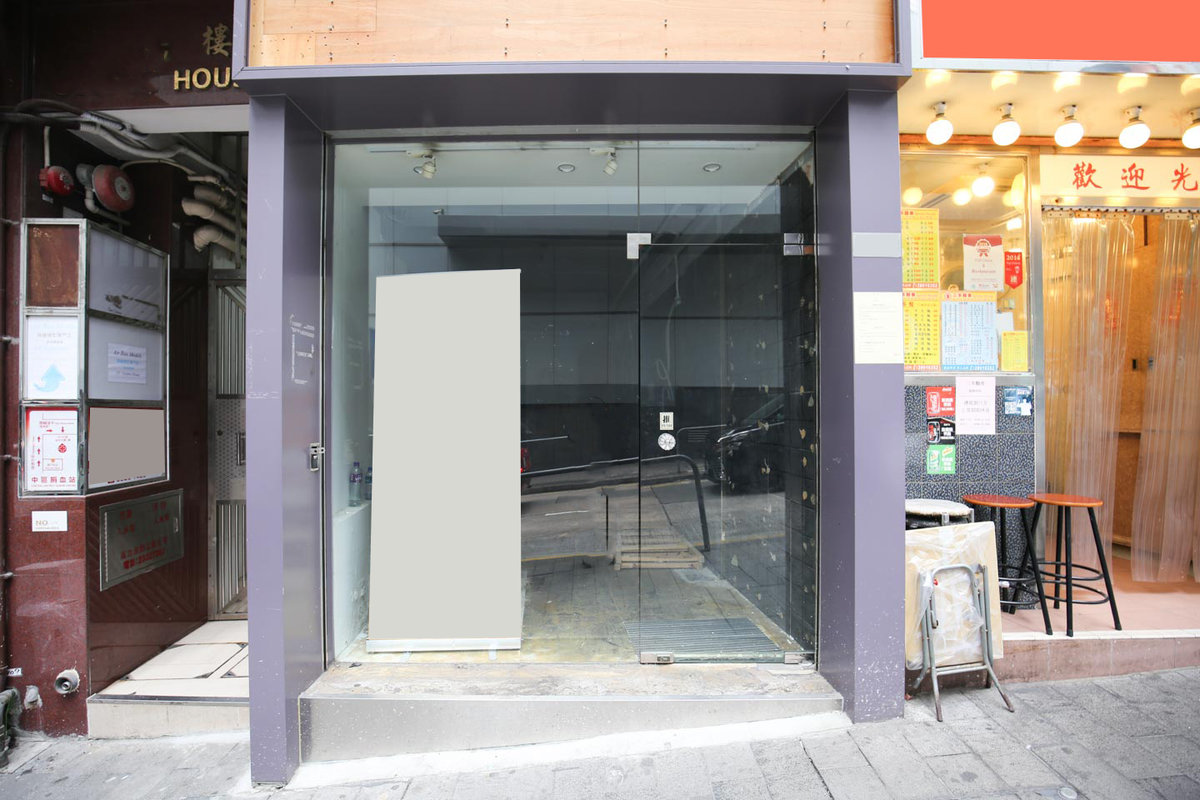 Storefront listing Elegant Pop-Up Store in Central in Central, Hong Kong, Hong Kong.