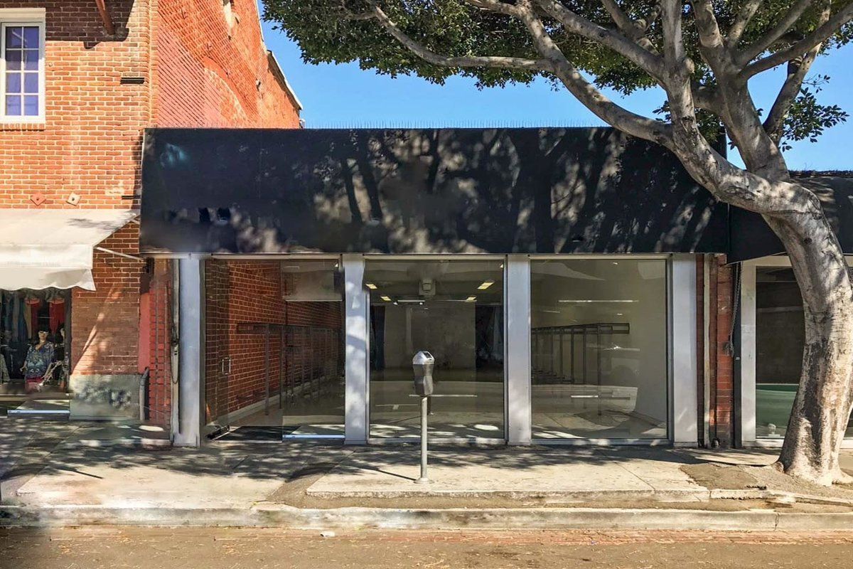 Storefront listing Pop-Up Space in Downtown L.A. in Central LA, Los Angeles, United States.