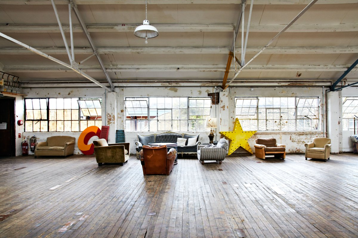 Espace Storefront Spacious Dalston Artists Loft dans Dalston, Greater London, United Kingdom.