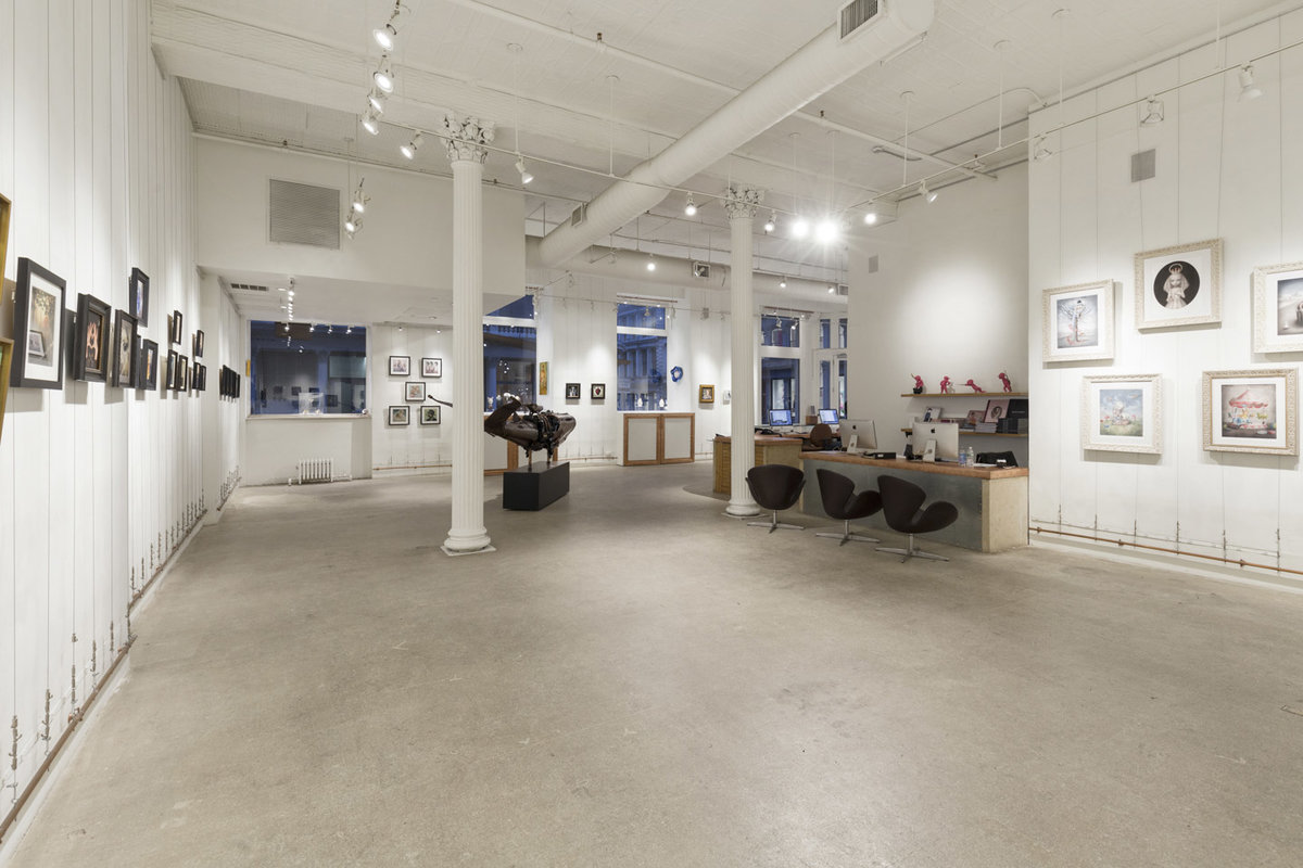 Storefront listing Stunning Pop-Up Gallery in SoHo in Soho, New York, United States.