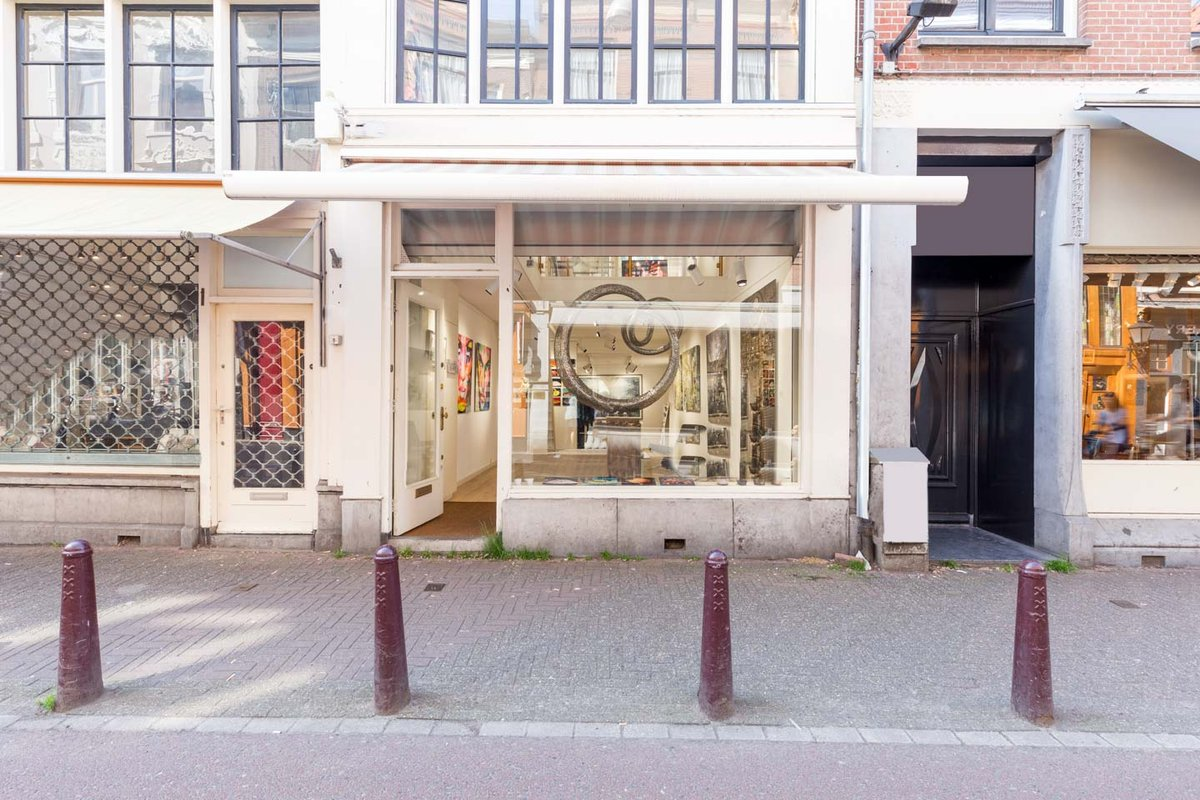 Storefront listing Bright Showroom in The Center in Grachtengordel, Amsterdam, Netherlands.