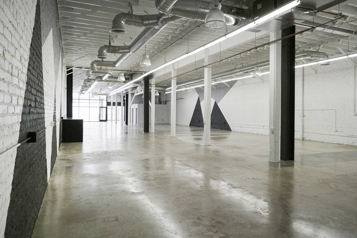 Storefront listing Creative Art Space in DTLA, Los Angeles, United States.