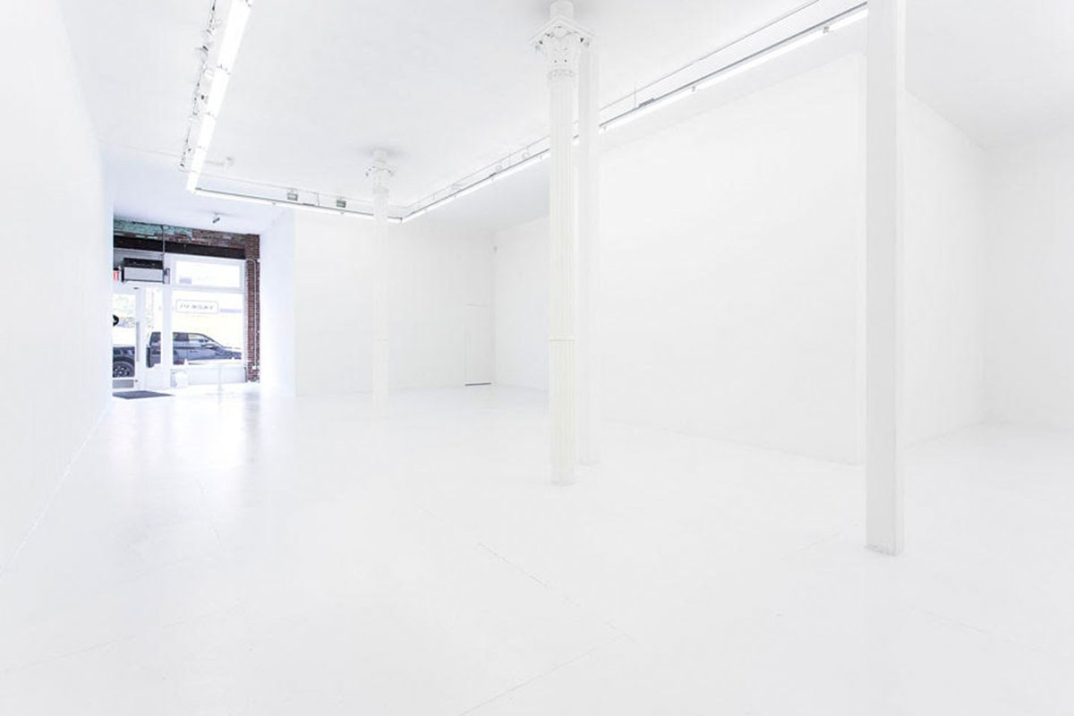 Storefront listing Creative Art Space in Prime Bowery in Lower Manhattan, New York, United States.