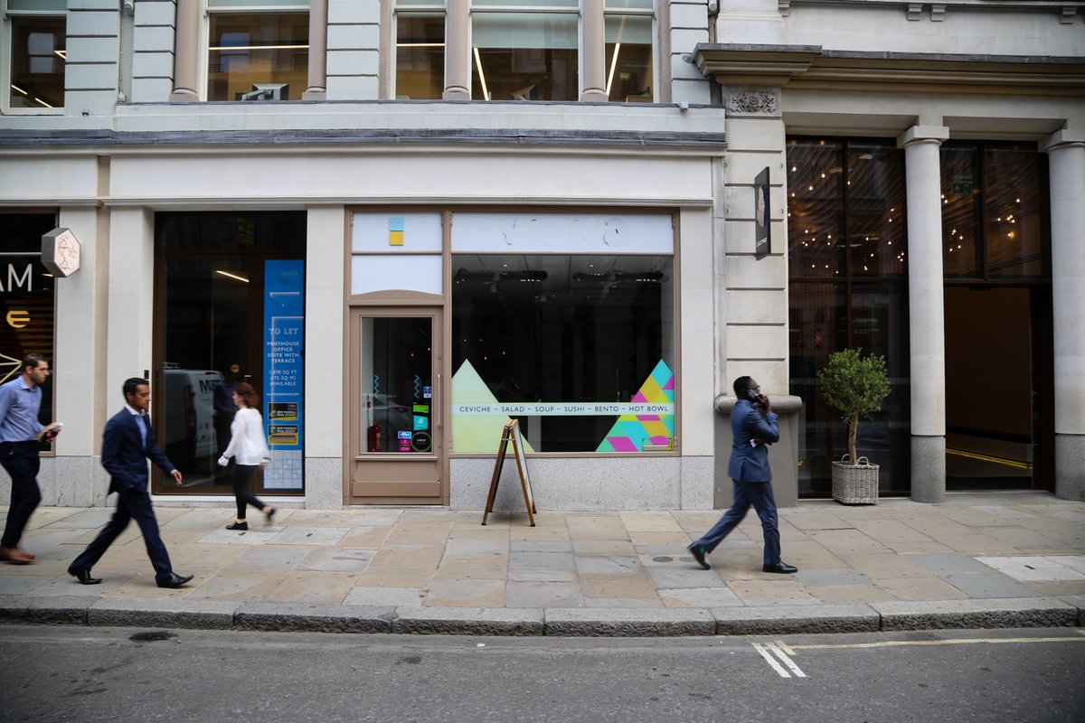 Storefront listing Newly refurbished City Pop Up, London, United Kingdom.