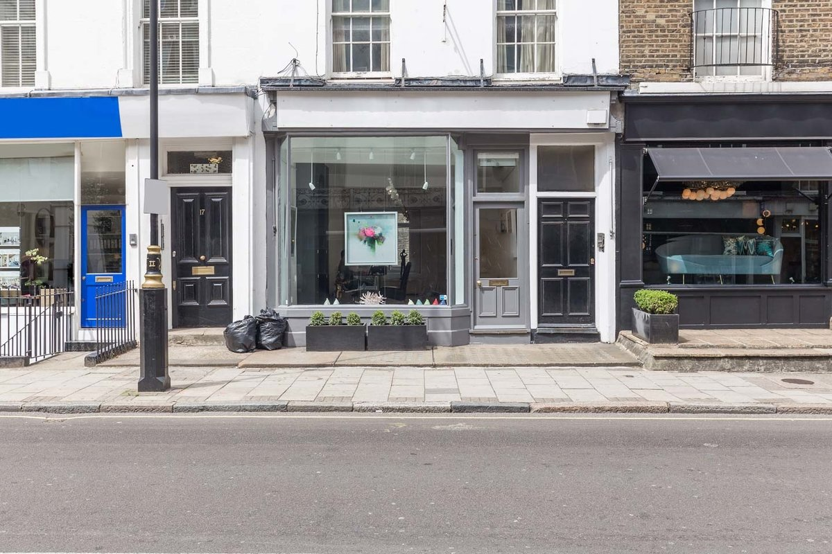 Storefront listing Modern Marylebone Gallery Space in Marylebone, London, United Kingdom.