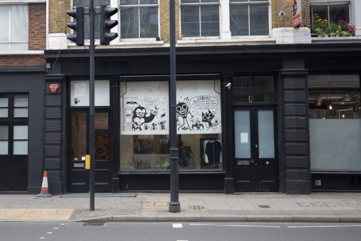 Storefront listing The Black Shoreditch Showroom in Shoreditch, London, United Kingdom.
