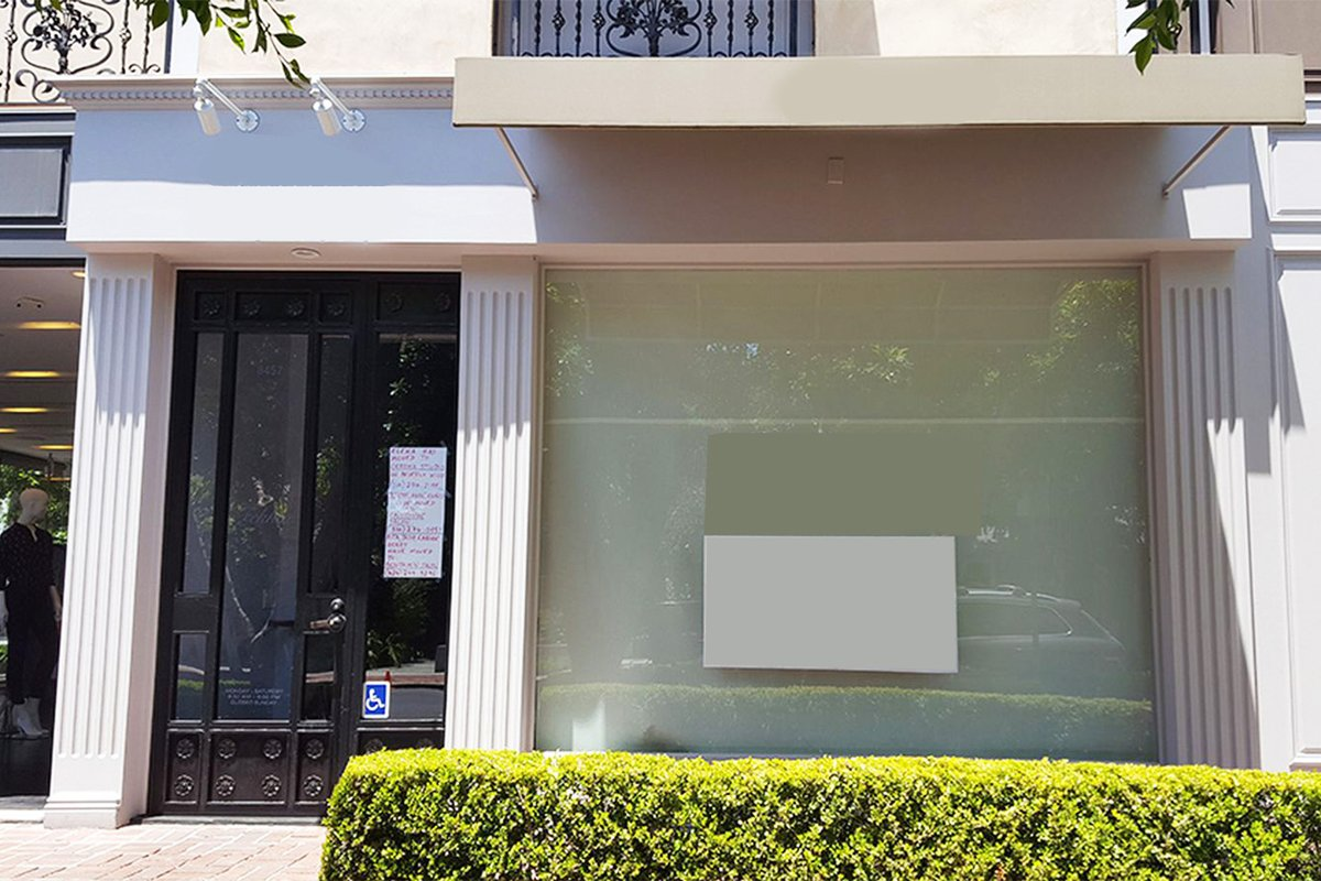 Storefront listing Prime West Hollywood Boutique in Melrose, Los Angeles, United States.