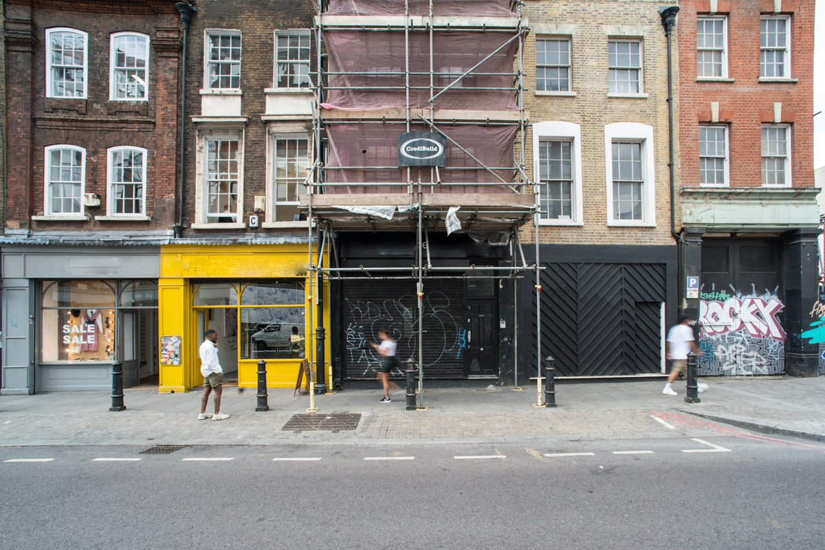 Storefront listing Shoreditch High Street Rear Ground Floor Space, London, United Kingdom.