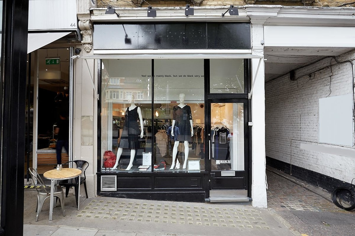Storefront listing Classic Boutique in Hampstead in Hampstead, London, United Kingdom.
