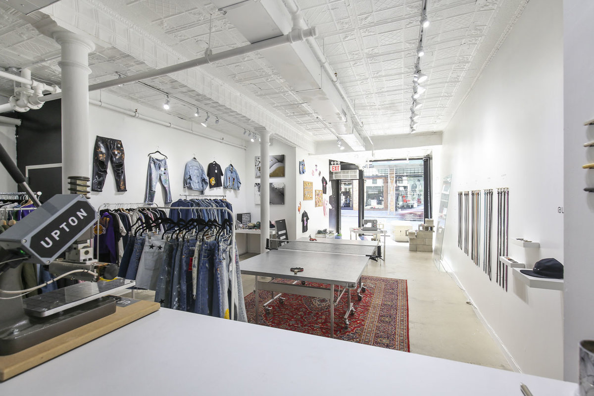 Storefront listing Soho Retail Boutique in SoHo, New York, United States.