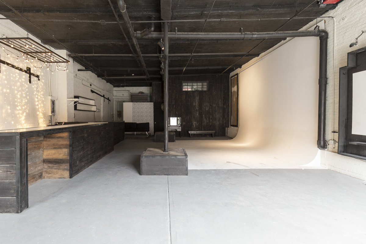 Storefront listing Studio Space in Williamsburg in Williamsburg, New York, United States.