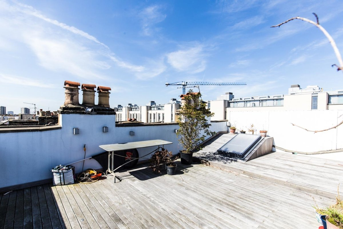 Storefront listing Rooftop Venue near Westbourne Park in Notting Hill, London, United Kingdom.