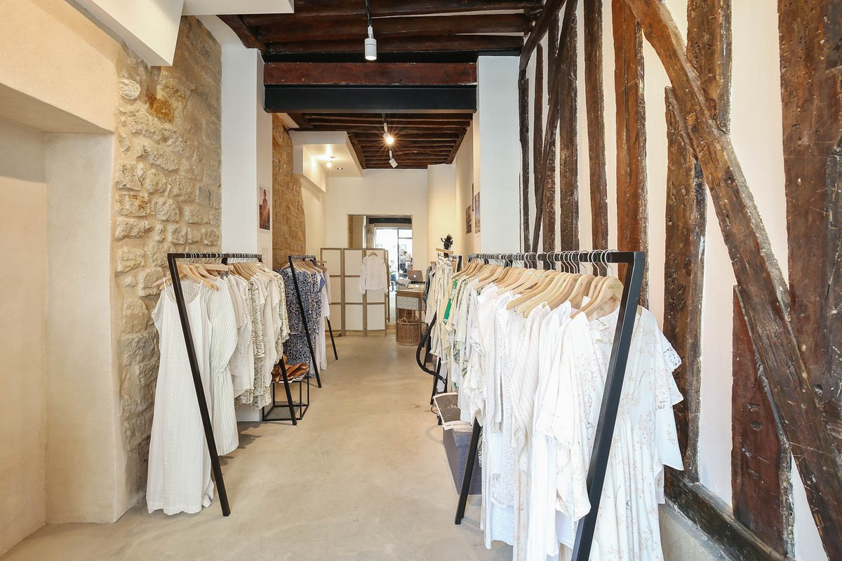 Storefront listing Pop-Up Boutique in Le Marais in Le Marais, Paris, France.