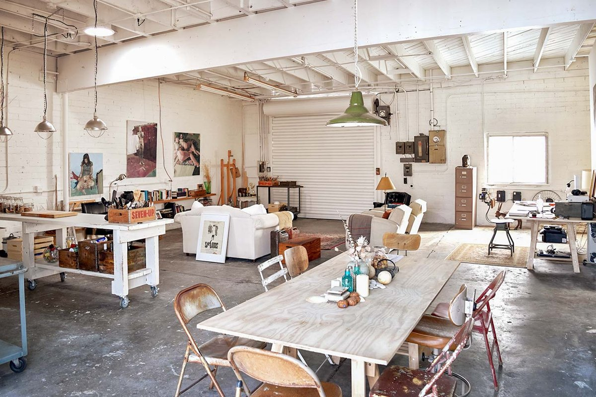 Storefront listing Studio Space Near Silver Lake in Silver Lake, Los Angeles, United States.