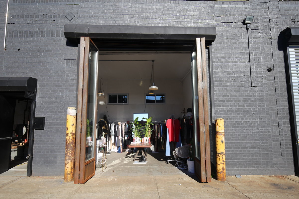 Storefront listing Pop-Up Boutique in Williamsburg in Greenpoint, New York, United States.