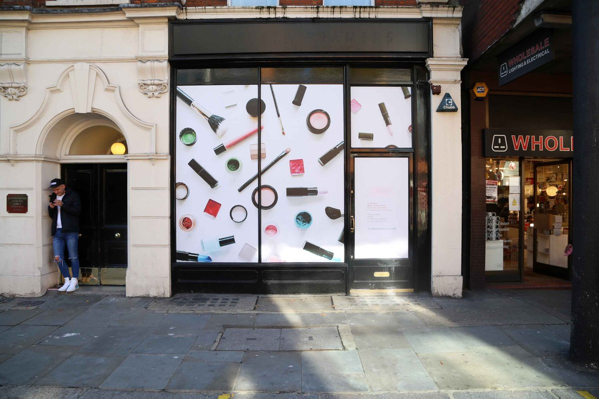 Storefront listing Pop Up Kings Road Boutique in Chelsea, London, United Kingdom.