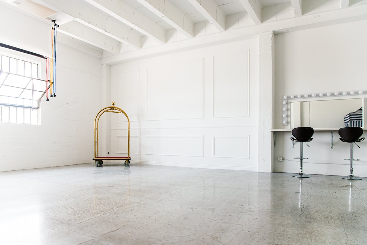 Storefront listing Pristine Studio in Downtown LA, Los Angeles, United States.