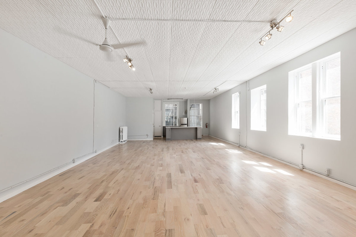 Storefront listing Pristine Loft Space in SoHo in SoHo, New York, United States.
