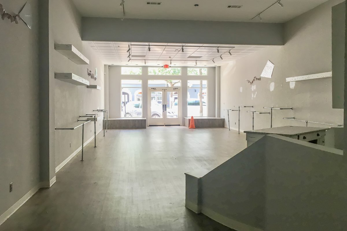 Storefront listing West Village Pop-Up Space, Dallas, United States.