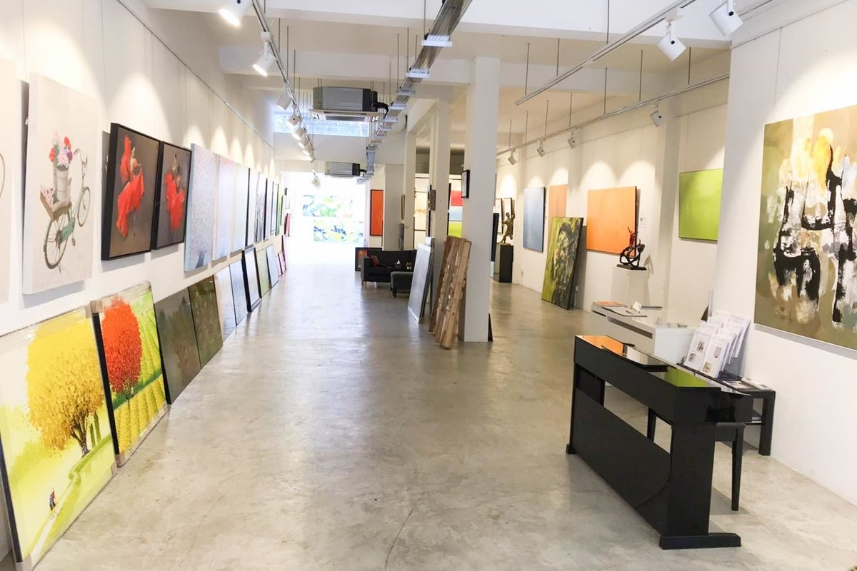 Storefront listing Glorious Gallery in Bukit Timah in Tiong Bahru, Singapore, Singapore.