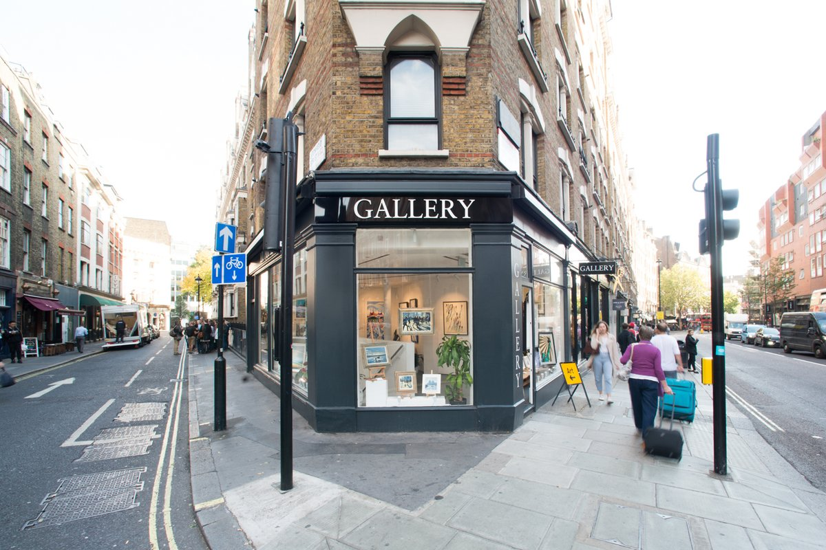 Storefront listing Charing Cross, Leicester Square Event Space, London, United Kingdom.