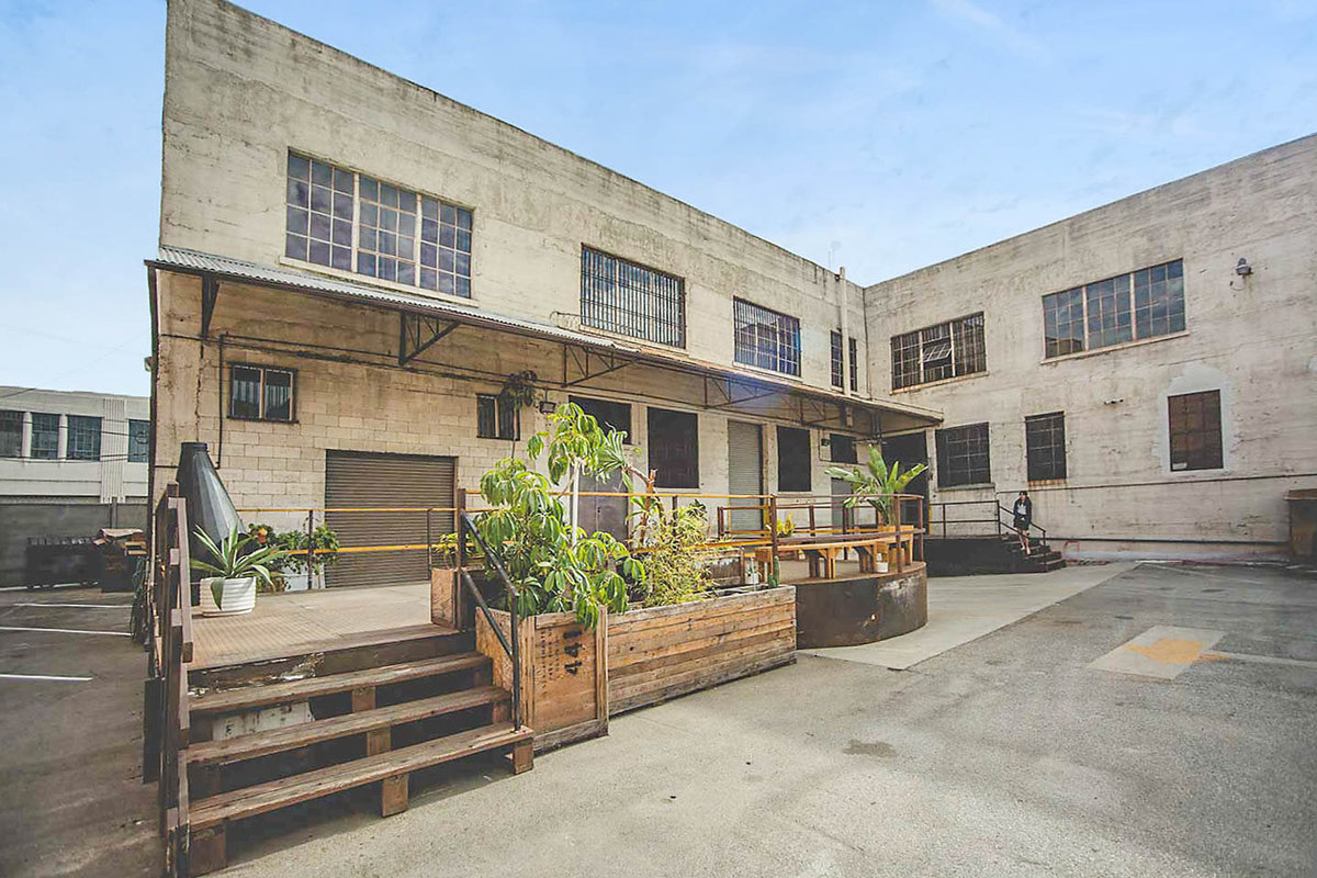 Storefront listing Spacious Arts District Outdoor Lot in Arts District, Los Angeles, United States.