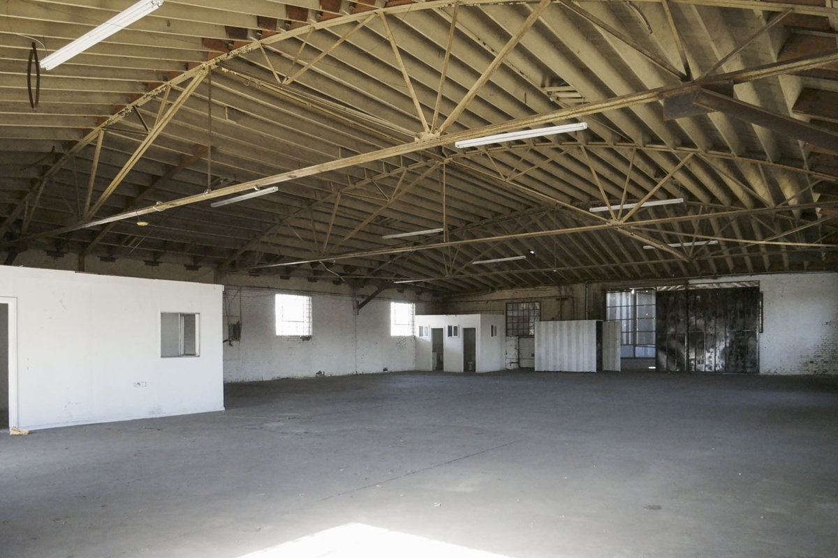 Storefront listing Raw Warehouse in South LA, Los Angeles, United States.